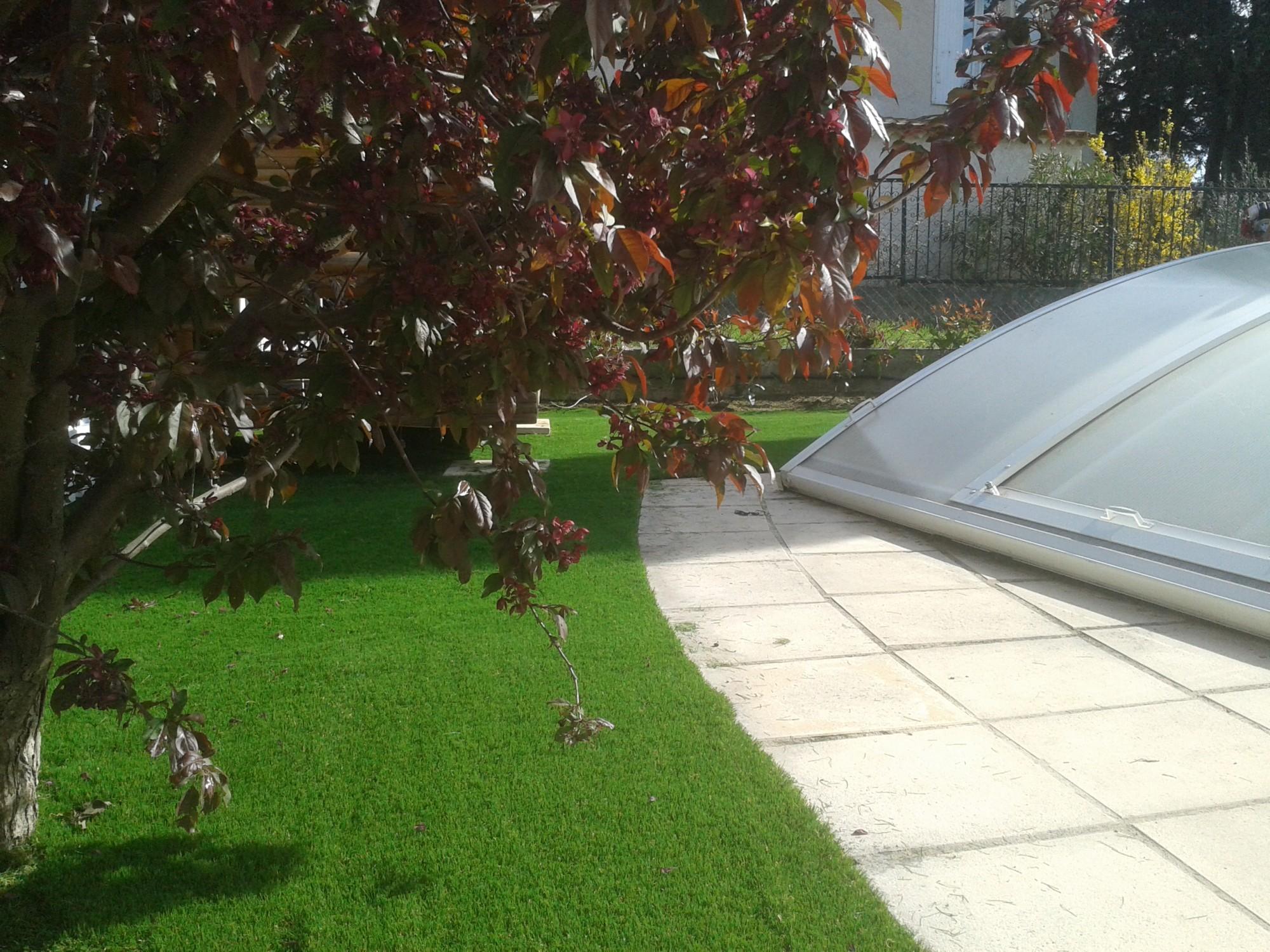 Meilleur poseur de gazon synth tique pour jardin et entourage de piscines gazon et pelouse for Ecran de jardin synthetique