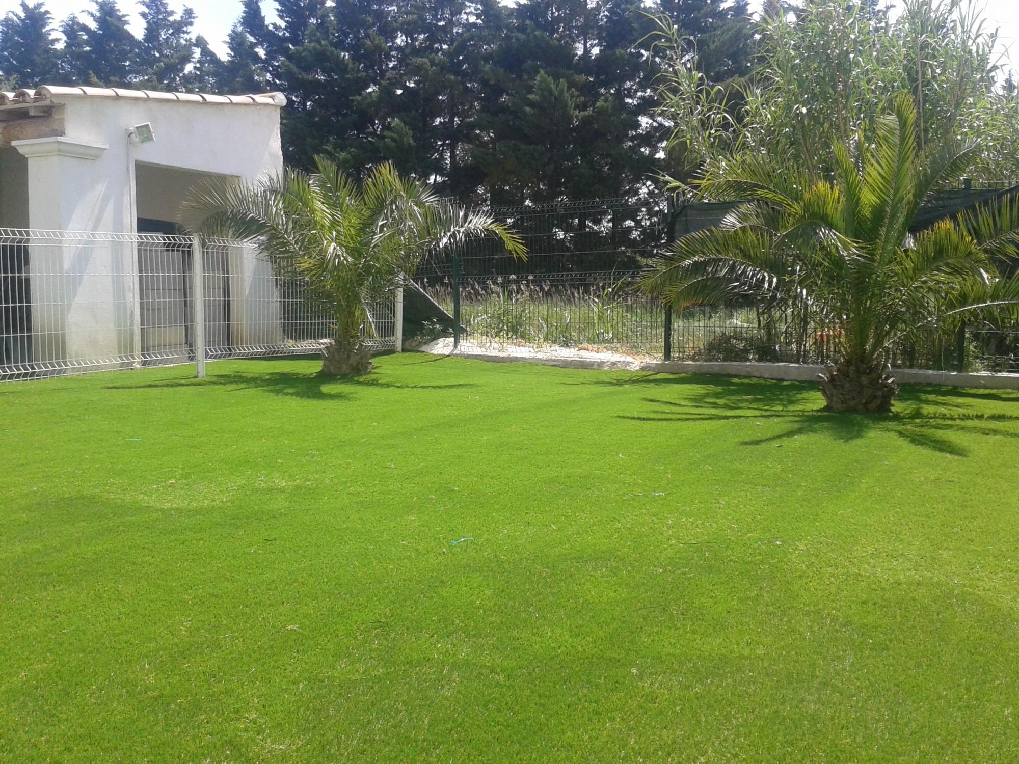 Gazon synth tique pour jardin ou surface sportive univers gazons for Ecran de jardin synthetique