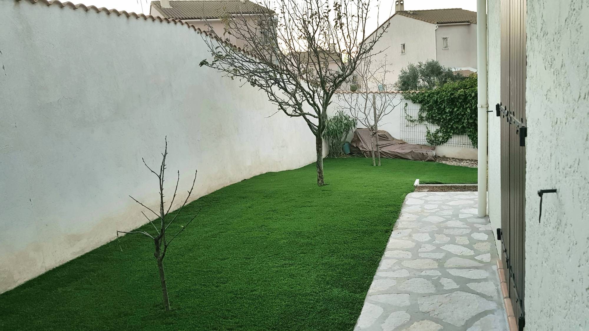 pose du gazon synthétique à Aix en Provence