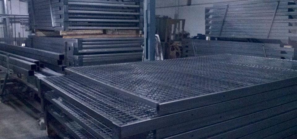 La fabrication d'un terrain de Padel