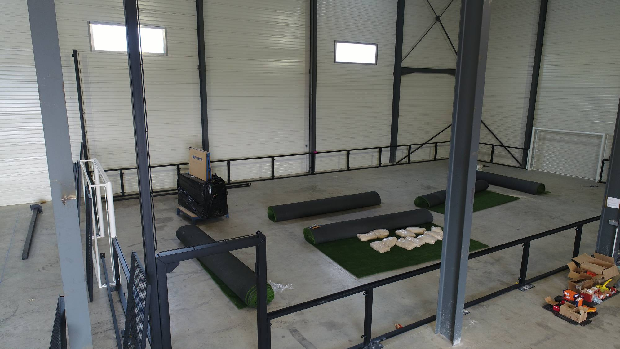 filet pour football indoor