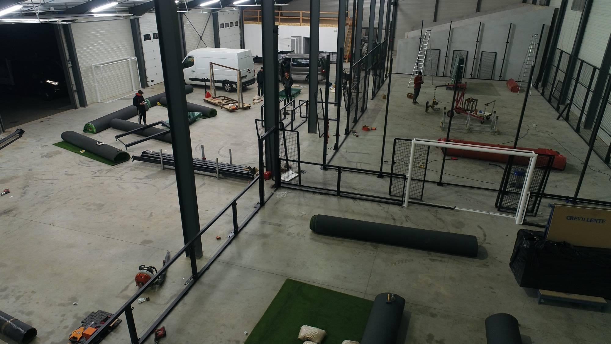 createur de football indoor en France