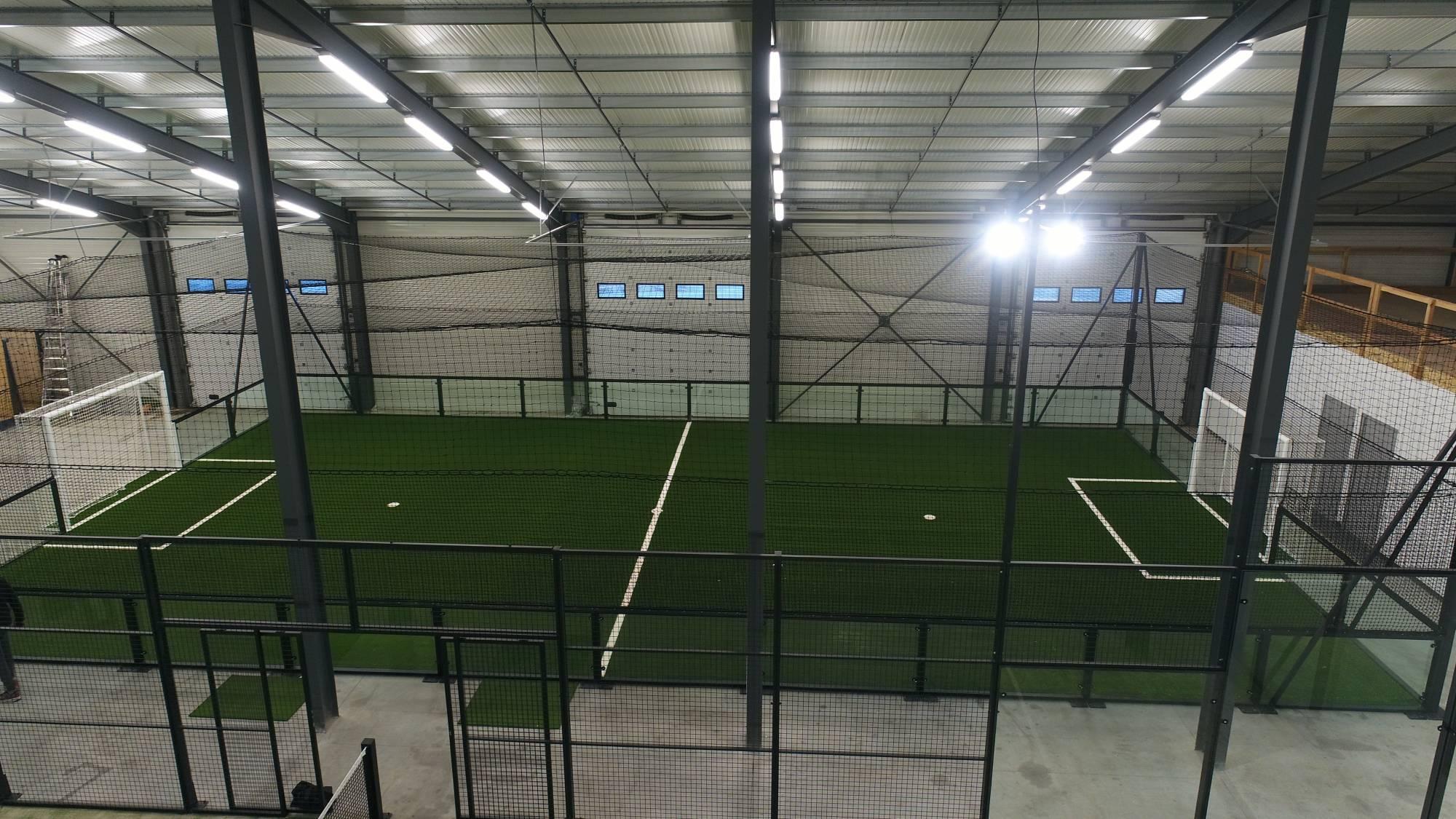création d'un foot indoor à Cahors
