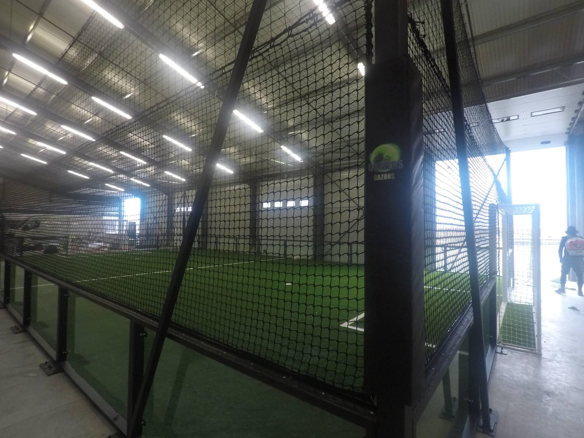 création d'un football indoor à Cahors