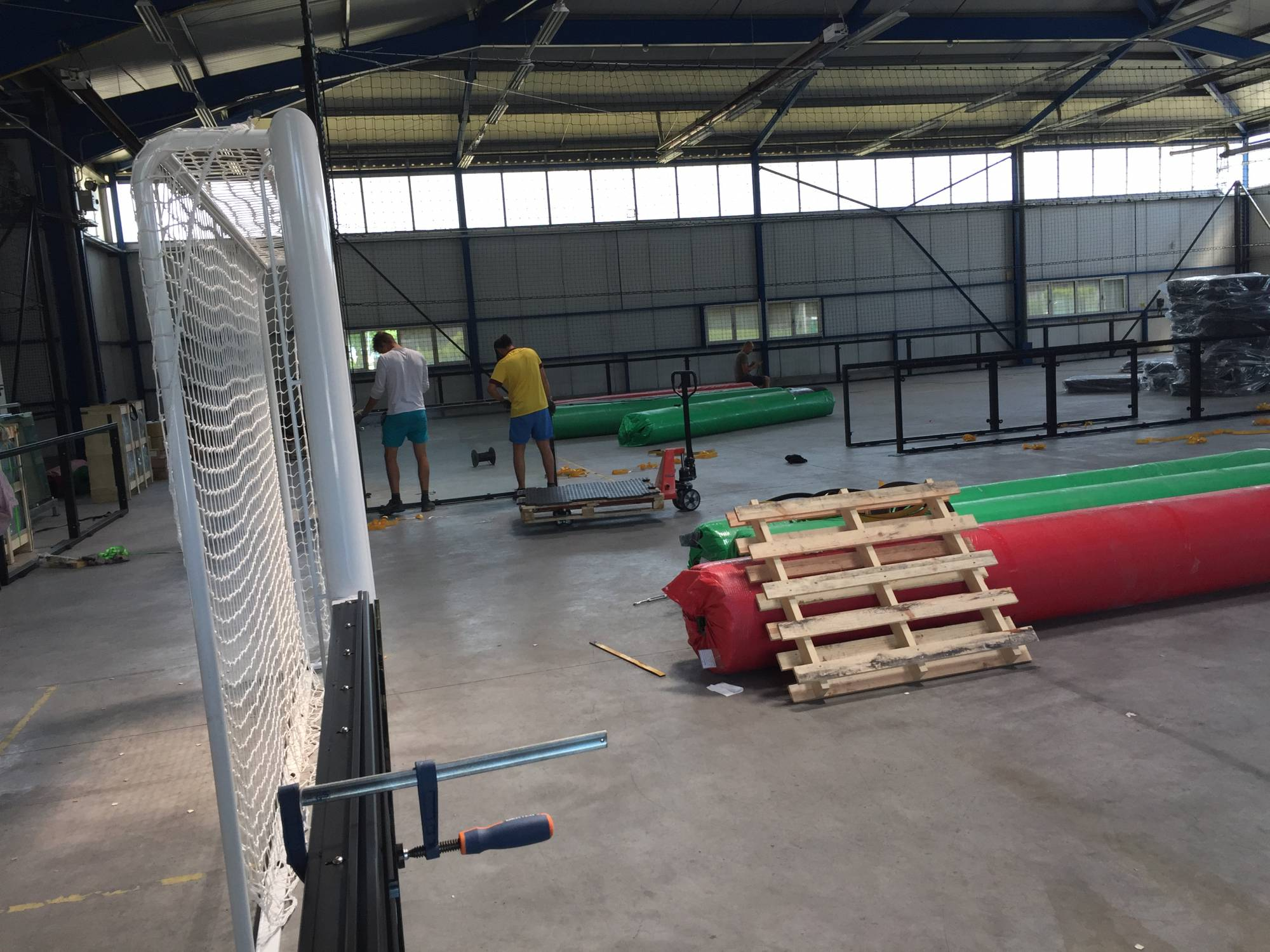 terrain de football synthétique à Grenoble