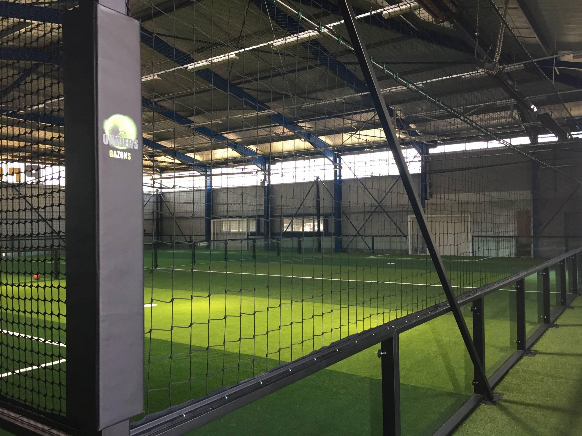 installation du pro soccer five Grenoble