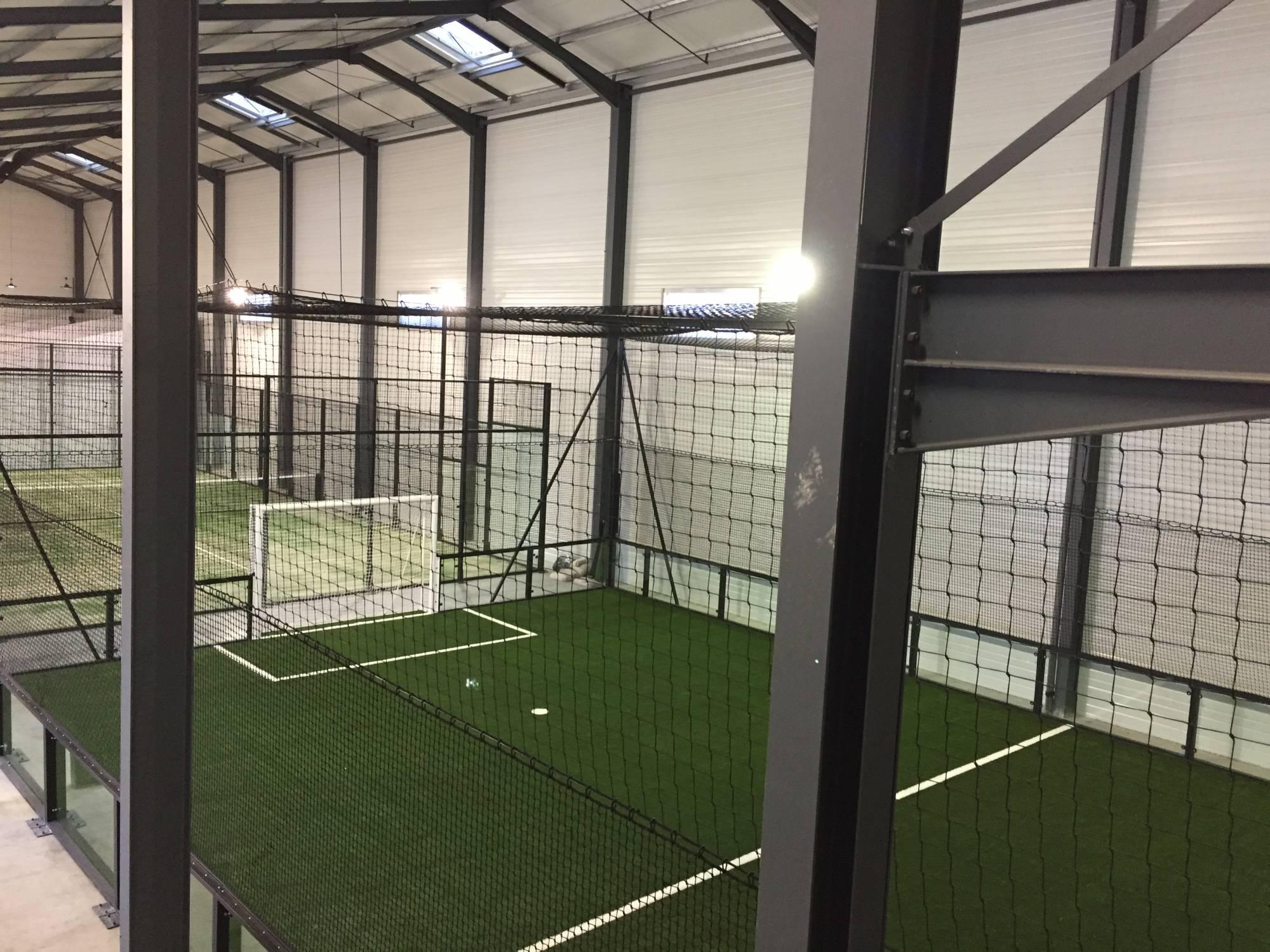 installation d'un foot indoor à Cahors
