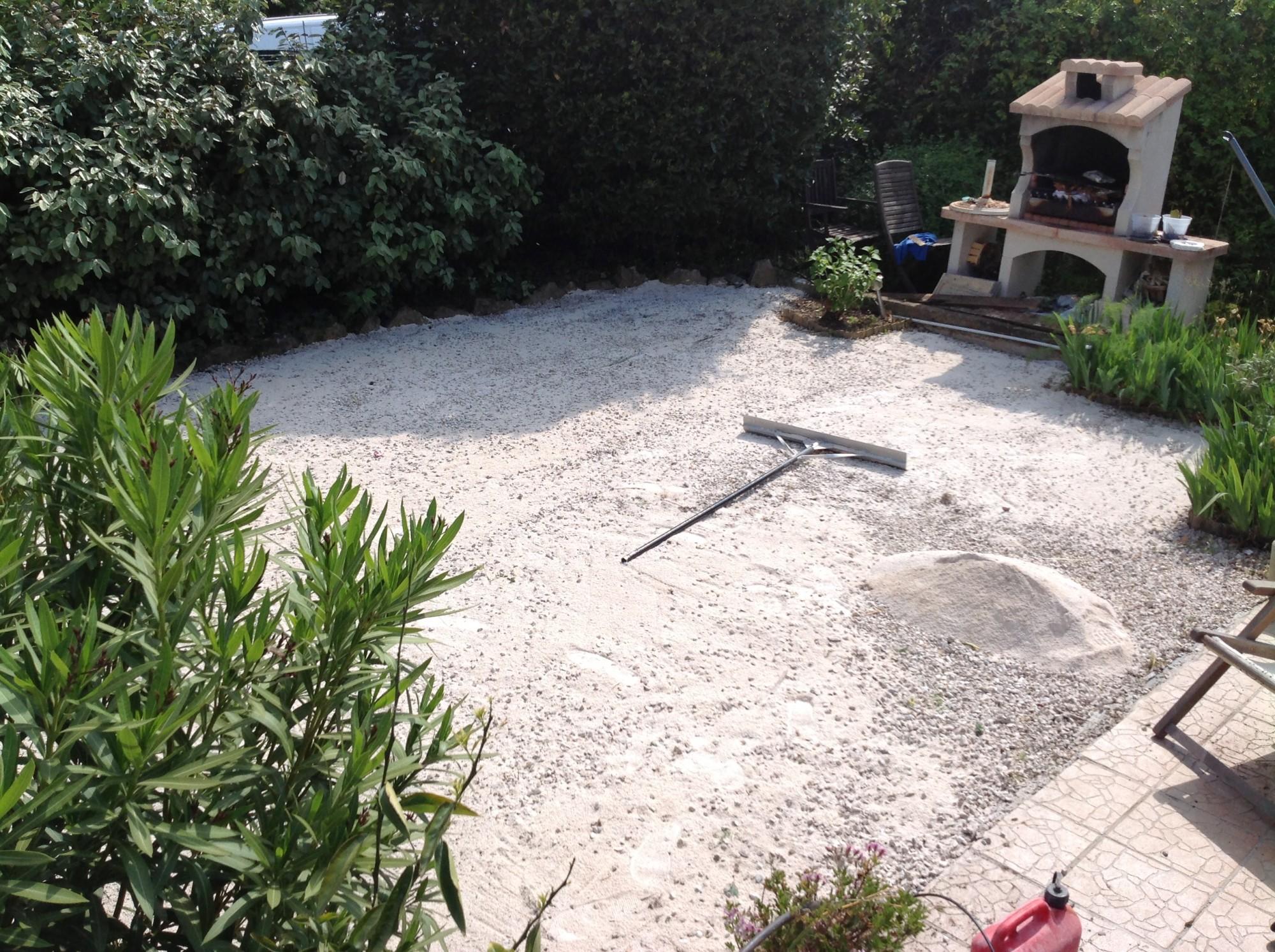 Pose D 39 Un Gazon Synth Tique Dans Un Jardin Toulon La