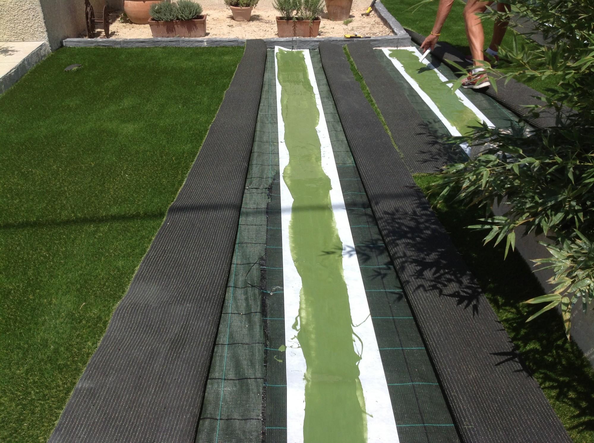Installateur de pelouse synthétique à Nice