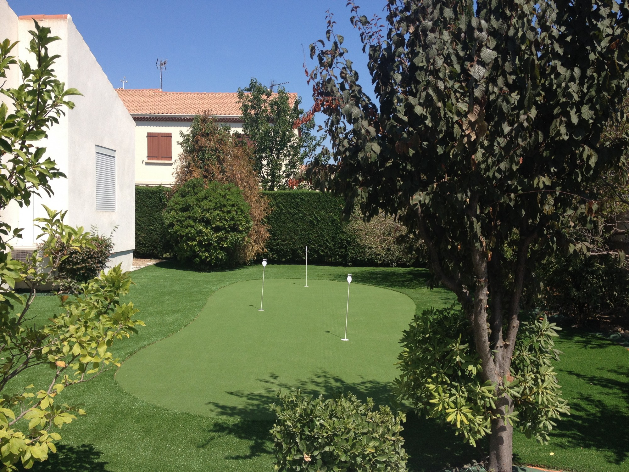 putting green synthétique