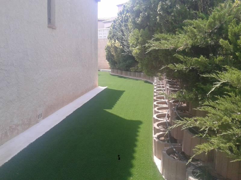 Gazon synth tique pour practice de golf gazon et pelouse for Devis gazon jardin