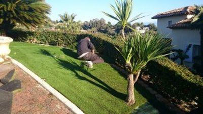 Comment poser du gazon synth tique la pose gazon synth tique gazon et pelouse - Comment poser du gazon synthetique sur de la terre ...