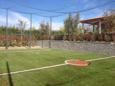 terrain de foot privé