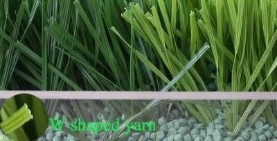 gazon synth�tique � m�moire de forme W shape