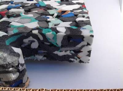 sous couche amortissante de 35 mm plaque de 2m x 1m gazon. Black Bedroom Furniture Sets. Home Design Ideas